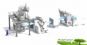 خط تولید ملت بلون Melt Blown Nonwoven Production Line