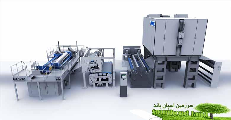 ماشین آلات تولید اسپان باند