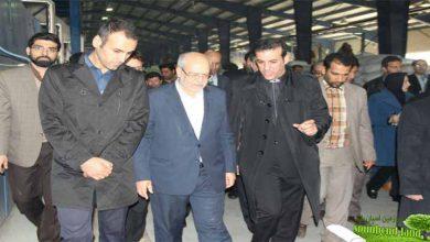 افتتاح کارخانه تولید الیاف مصنوعی قم با حضور وزیر صنعت معدن و تجارت