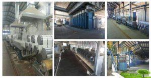 کارخانه تولید الیاف مصنوعی