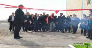 افتتاح کارخانجات الیاف مصنوعی تندگویان قم