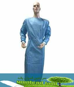 پارچه اسپانباند لباس بیمار