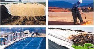 کاربرد پارچه های اسپان باند در صنعت راه و ساختمان